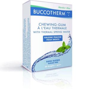 Buccotherm Sugar free chewing-gum 20 CHEWING-GUMS, MINT TASTE