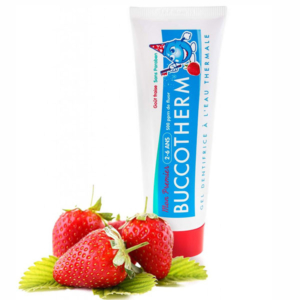 BUCCOTHERM® Toothpaste 2-6 years 50 ML, STRAWBERRY FLAVOUR