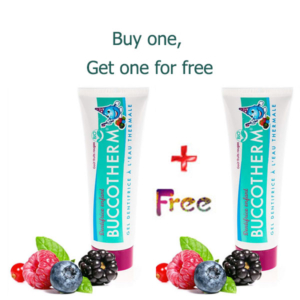 Buccotherm From 3 years old, Red berry flavor ORGANIC certified 50ML, REDBERRY TASTE